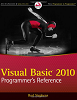 Visual Basic 2010 Programmer's Reference